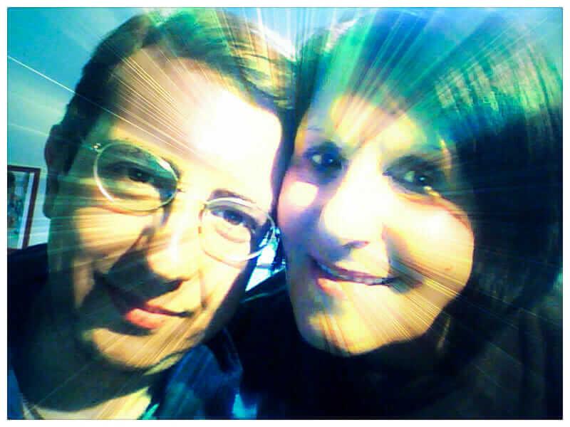 Roberto Di Molfetta con sua madre