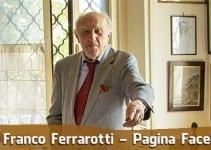 Franco Ferrarotti - Pagina Facebook ufficiale