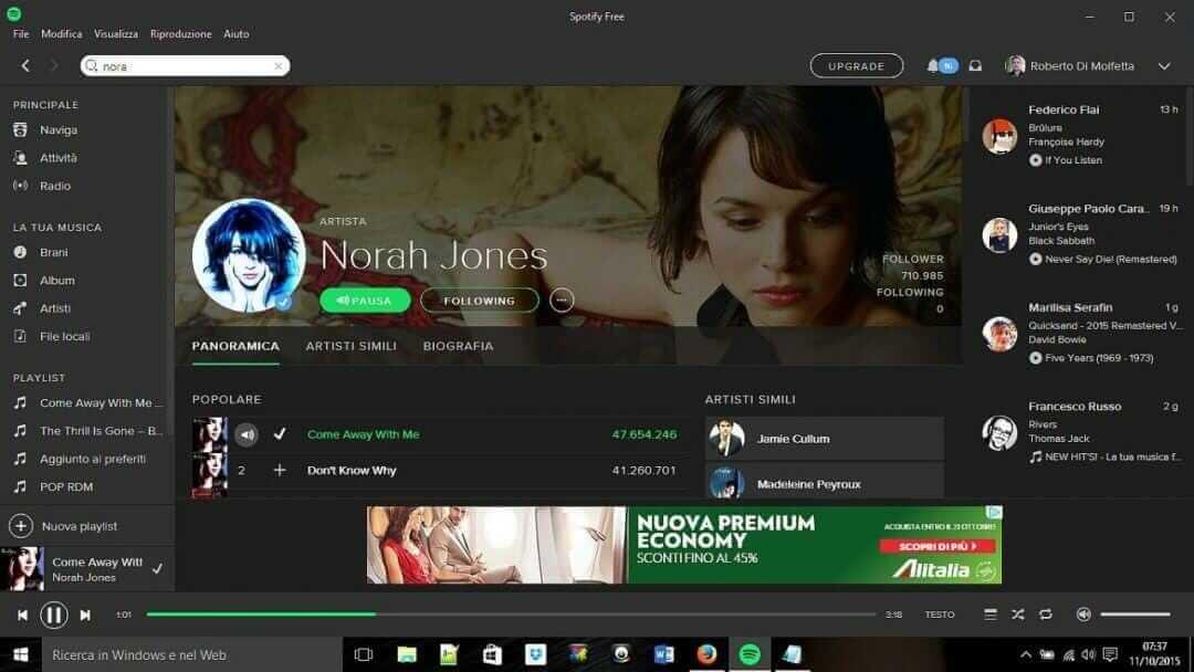 Ascoltare-Nuova-Musica-Spotify