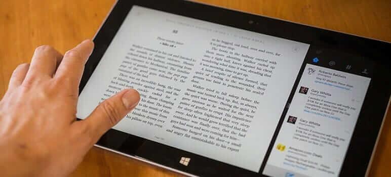 Leggere-libri-sul-tablet