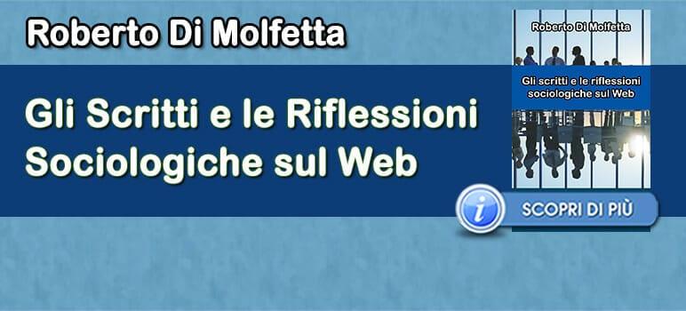 Roberto Di Molfetta - Riflessioni sociologiche