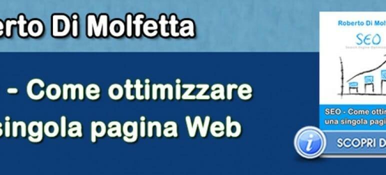 Roberto Di Molfetta - SEO