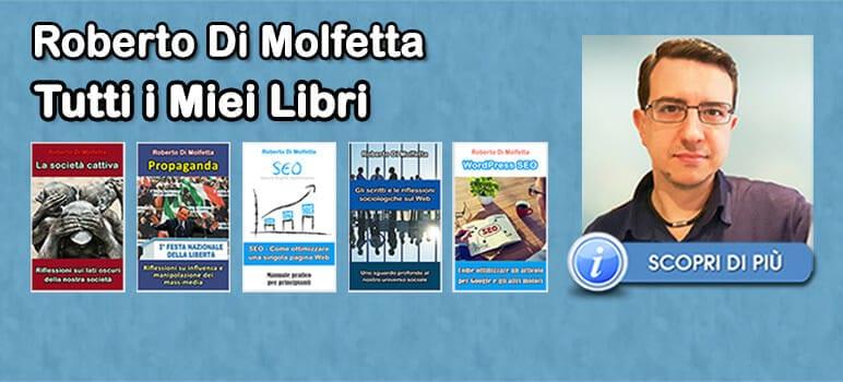Roberto Di Molfetta - Libri