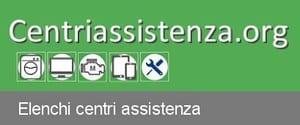 Elenco Centri Assistenza