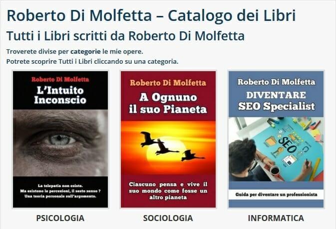 Roberto Di Molfetta Libri