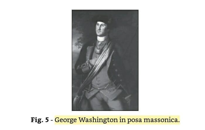 george washington in posa massonica - Da rivelazioni non autorizzate